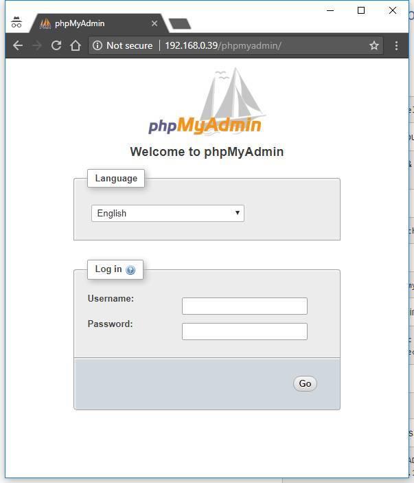 Install apache php7 mySQL and phpmyadmin on Raspbian Stretch on a RaspberryPi