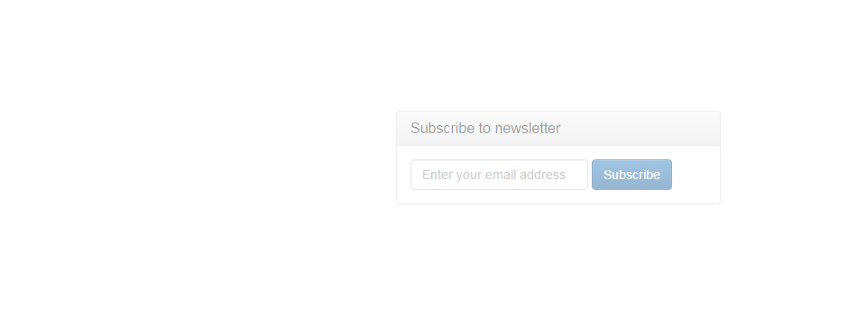 Add a mailing list subscription to your website